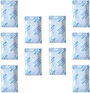 10 x 10 g E-Cron Trockenmittel Silikagel in Tyvek Päckchen. Reine, sichere und..
