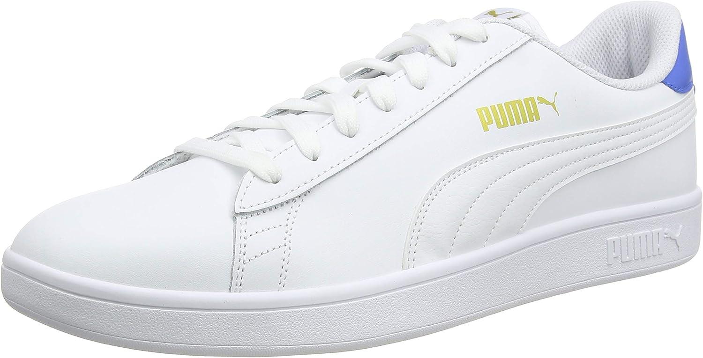 PUMA unisex-adult Puma Smash V2 L Jr