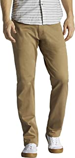 Lee mensPerformance Series Extreme Motion Straight Fit Tapered Leg Jean Jeans - Brown - 33W x 29L