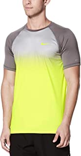 Men's Fade Mist Short Sleeve Hydro Rash Guard