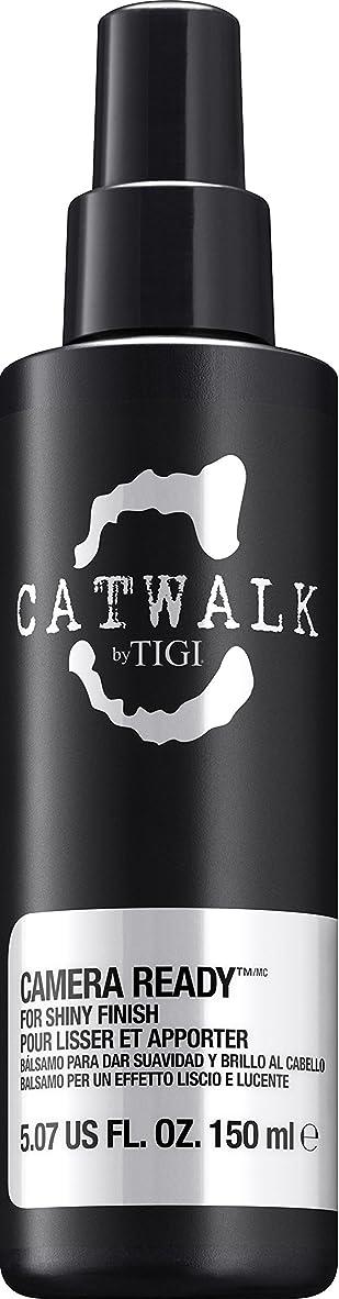 クランプ相対サイズネーピアby Tigi CAMERA READY SHINE SPRAY 5.07 OZ by CATWALK