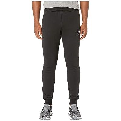 Emporio Armani EA7 Training Slim Fleece Sweatpants (Black) Men
