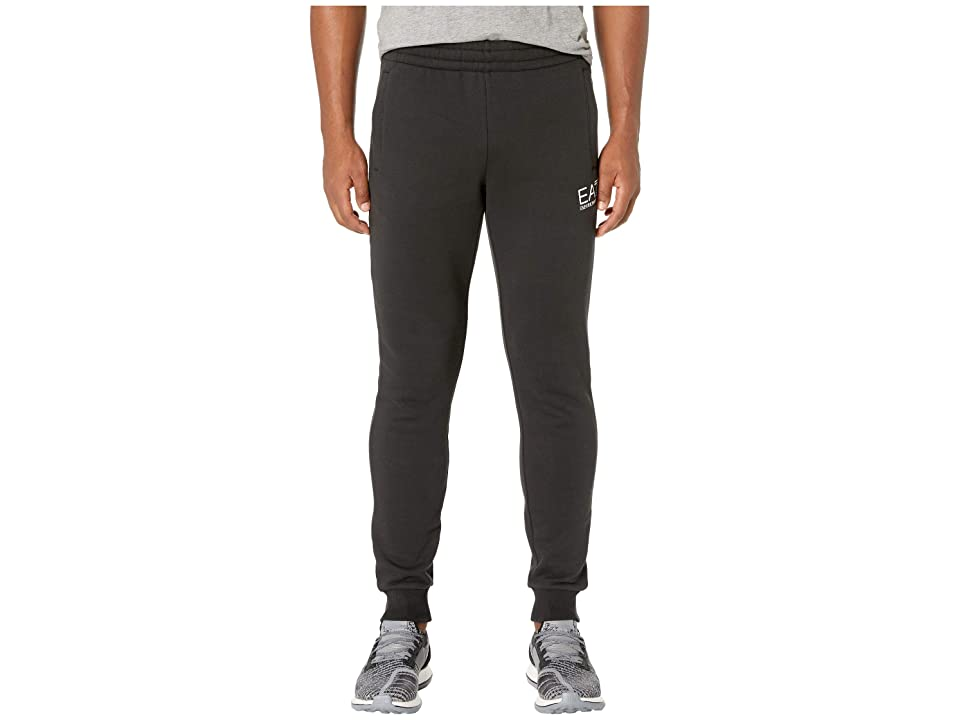 Emporio Armani EA7 Training Slim Fleece Sweatpants (Black) Men