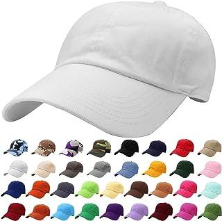 76ad832a5e945 Falari Classic Baseball Cap Dad Hat 100% Cotton Soft Adjustable Size