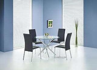 Table A Manger Ronde Ø : 100 CM Couleur : Transparent