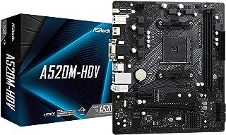 ASRock AMD Ryzen 3000/4000シリーズ(Soket AM4)対応 A520チップセット搭載 Micro ATX マザーボード 【国内正規代理店品】A520M-HDV