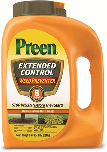 Preen 2464161 Extended Control Weed Preventer