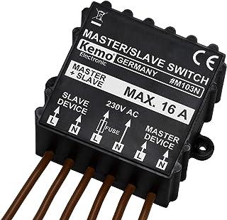KEMO M103N - Interruptor y regulador de intensidad, color ne