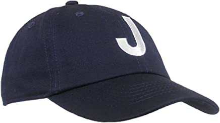631e562141e Tiny Expressions Toddler Boys  and Girls  Navy Embroidered Initial Baseball  Hat Monogrammed Cap