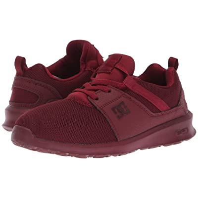 DC Kids Heathrow (Little Kid/Big Kid) (Burgundy) Girls Shoes