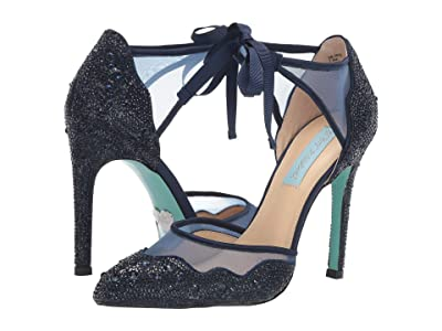 Blue by Betsey Johnson Iris Pump (Navy) Women