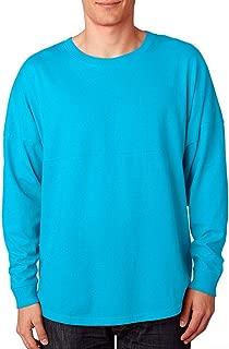 J. America Ladies Game Day jersey Long sleeve T-Shirt - black Sparkle Glitter