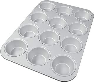Fat Daddio's Standard Muffin Pan, 11.2 x 15.8 Inch