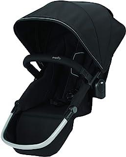 Evenflo Pivot Xpand Stroller Second Seat, Stallion, Black