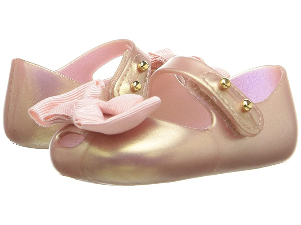 Mini Melissa My First Melissa (Infant) (Metallic Pink) Girls Shoes