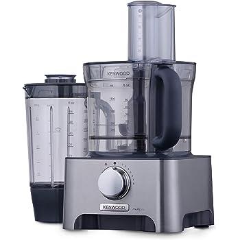 Kenwood FDM780BA - Robot de cocina, 1,5 l, 1000 W, color gris: Amazon.es: Hogar