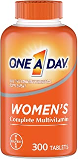 ONE A DAY 120802 Women's Health Formula Multivitamin, B-Vitamins, Multiminerals Supplement, 1 Pack of 300Count