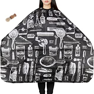 Lictin Hair Apron Hair-cutting Gown Barber Cape Water-repellent Anti-static Dyeing Salon Apron for Haircut Apron Nylon Clo...