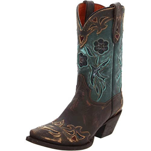 3f4837fe447 Teal Cowgirl Boots: Amazon.com