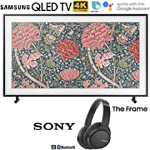 $1376 » Samsung QN49LS03RA The Frame 3.0 49-inch LS03R QLED Smart 4K UHD TV (2019) Bundle with Sony WHCH700N/B Wireless Noise Canceling Bluetooth Headphones, Black