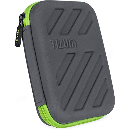 TIZUM External Hard Drive Case for 2.5-Inch Hard Drive (Gray)