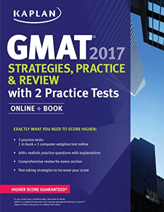 GMAT 2017 Strategies, Practice & Review with 2 Practice Tests: Online + Book