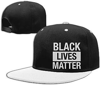 Black Lives Matter-1 Unisex Adjustable Flat Brim Baseball Cap Back Cap Hat