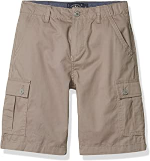 Lucky Brand Boys' Solid Cargo Shorts