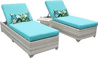 TK Classics FAIRMONT-2x-ST-ARUBA Fairmont Chaise Lounge, Aruba