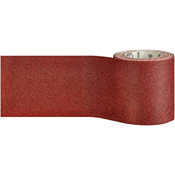 Wolfcraft 1774000 Rouleau de papier abrasif Grain 120 5 x 115 mm