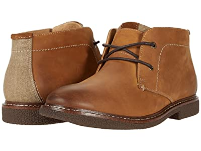 Lucky Brand Boone (Saddle Tan Snuffed Leather) Men