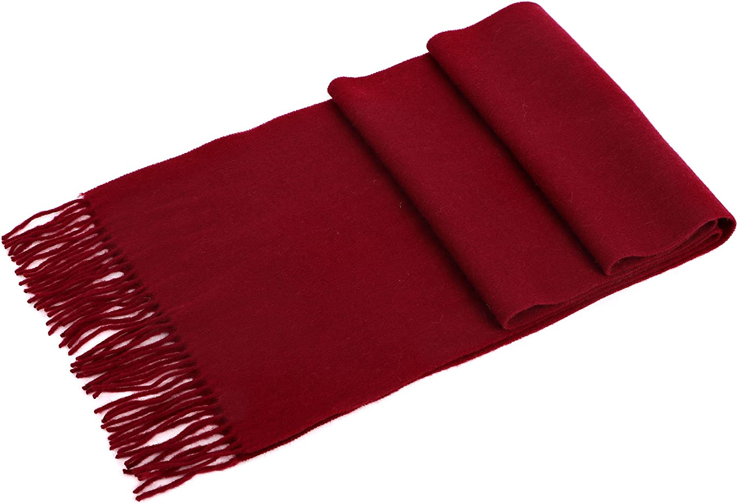 Personalized Embroidery Men Women's Cashmere Scarf w/Gift Box, 64 x 11.5 Inch