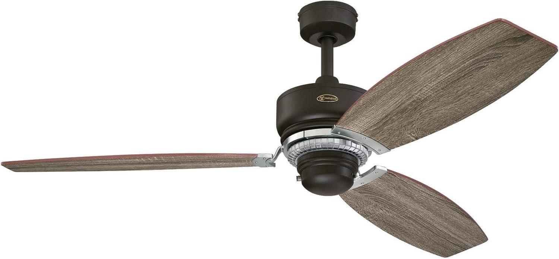 Westinghouse Lighting 7207600 Thurlow 54-inch Weathered Bronze Indoor Ceiling Fan