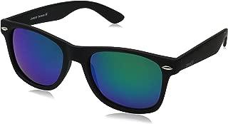 Matte Black Horn Rimmed Sunglasses