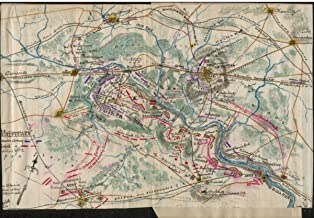 1861 map Map of the First Battle of Bull Run|Size 16x24 - Ready to Frame| Bull Run|1st Battle Of|Va|Bull Run|1st Battle Of|Va|Civil War|Fairfax County|Fairfax County|History|Manassas Region|Prince Wil