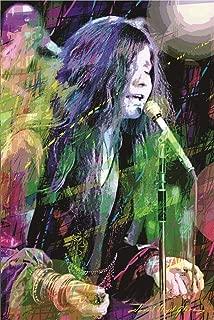 Janis Joplin Poster by: David Lloyd Glover