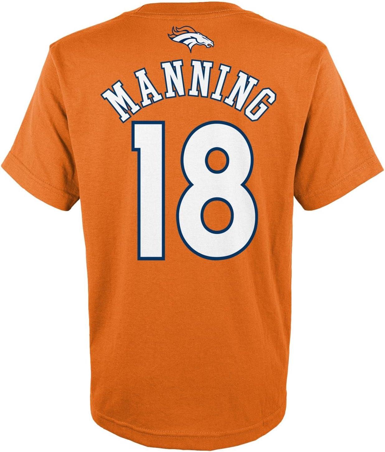 SCHUANG #18 Peyton Manning Rugby Jersey American Football Jersey Denver Broncos 18# Men Embroidered Tops Short Sleeve Shirt Sport T-Shirt Sweatshirt