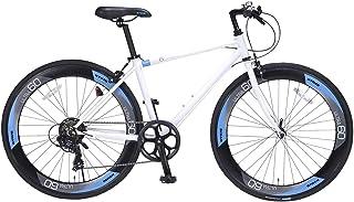 クロスバイク自転車 700C 外装7段変速付き KZ-109 KYUZO ULTRA60 HIGHPROFILE