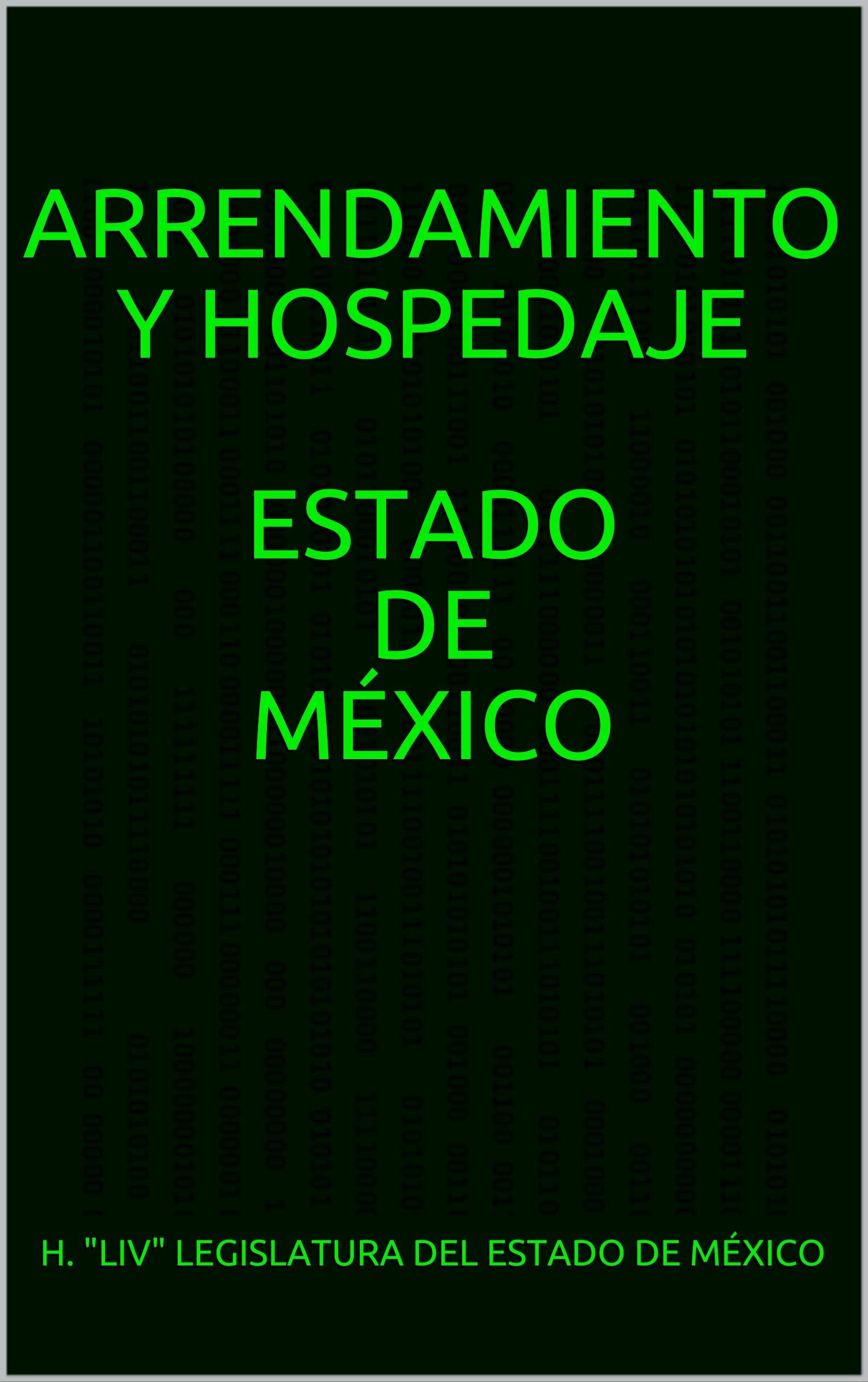 ARRENDAMIENTO Y HOSPEDAJE Estado de México (Spanish Edition)