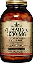 Solgar Vitamin C 1000 mg, 250 Vegetable Capsules - Antioxidant & Immune Support - Overall Health - Healthy Skin & Joints - Bioflavonoids Supplement - Non GMO, Vegan, Gluten Free, Kosher - 250 Servings
