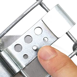 Clips to Attach a Sign to Chain Link Fence - Kit Includes (2) Fence Clips, (2) Bolts, (2) Screws and (4) Nylon Washers, from SmartSign