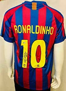 signed barcelona memorabilia