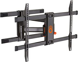 "ECHOGEAR Full Motion Articulating TV Wall Mount Bracket for TVs Up to 82"" - Smooth Extention, Swivel, & Tilt - Wall Templa..."
