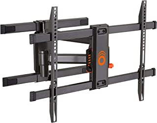 "ECHOGEAR Full Motion Articulating TV Wall Mount Bracket for TVs Up to 78"" - Smooth Extention, Swivel, Tilt - Wall Template for Easy Install - Centers & Levels After Mounting Plus Hides Your Cables"