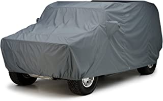 Covercraft Custom Fit Car Cover for Jeep Wrangler  (WeatherShield HP Fabric, Gray)