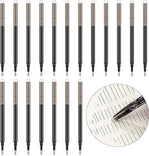 24 Pieces Gel Ink Refills Erasable Gel Refills for Erasable Gel Ink Pens, Fine Point 0.7 mm (Black)