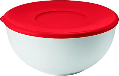 guzzini(グッチーニ) 容器 レッド ø20xh9.4cm-2L レンジコンテナー S MY KITCHEN (6P) 292620.55 6個入