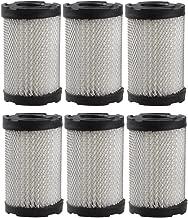 Panari (Pack of 6) Air Filter for Tecumseh 35066 Sears 10096 63087A
