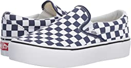 (Checkerboard) Medieval Blue/True White