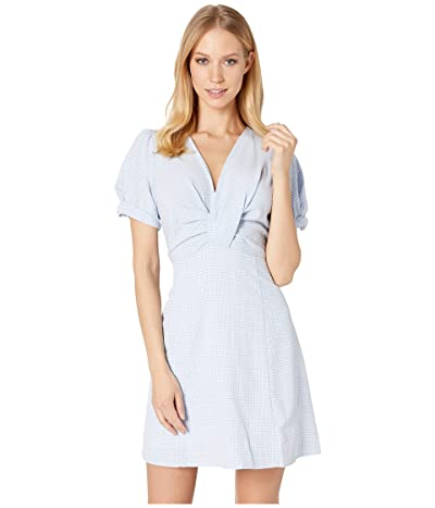ASTR the Label Taylor Dress (Sky/White) Women